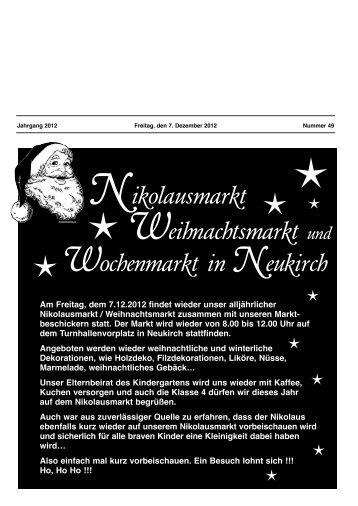 KW 49 vom 07.12.2012 - Neukirch