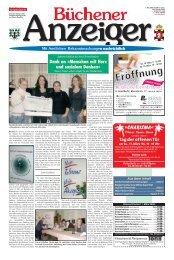 Büchener Anzeiger - Gelbesblatt Online