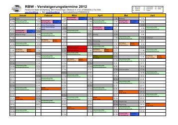 RBW - Versteigerungstermine 2012 - Rinderunion Baden ...