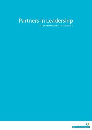 Partners in Leadership - BildungsCent eV