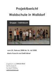 PROJEKT WALLDORF - Theaterwerkstatt Heidelberg