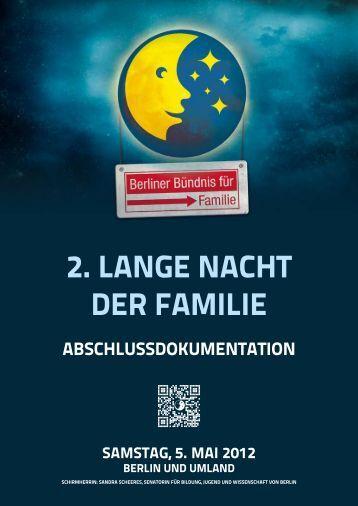 2. LANGE NACHT DER FAMILIE - 3. lange nacht der familie