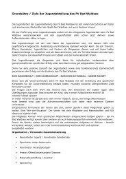 Jugendkonzept - FV Bad Waldsee 1919 e.V.