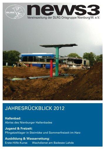 JAHRESRÜCKBLICK 2012 - DLRG Ortsgruppe Nienburg/Weser eV