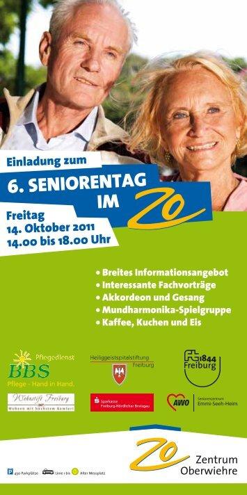 6. SEnIorEntAG IM - Zentrum Oberwiehre Freiburg