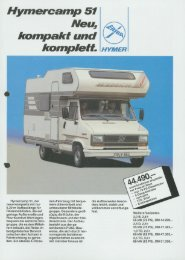 Hymercamp 51 1989 - Annonces camping car d'occasion de web ...