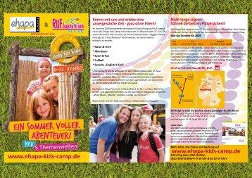 Ein Sommer voller Abenteuer! - ruf Jugendreisen