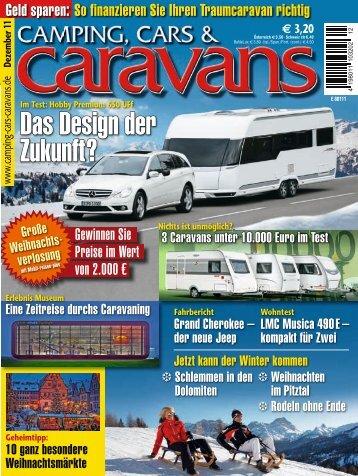 Camping, Cars & Caravans Dezember 2011
