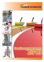 Seminarprogramm 2013 - Farben Schultze