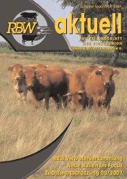 Internet-PDF:RBW aktuell September 2007 - Rinderunion Baden ...