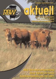 Internet-PDF:RBW aktuell September 2007 - Rinderunion Baden ...