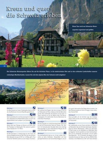 Kreuz und quer die Schweiz erleben - HYMER.com
