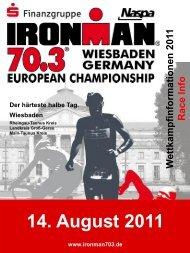14. August 2011 - Ironman 70.3 Wiesbaden