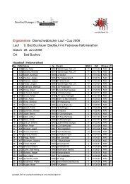 Lauf 9. Bad Buchauer Stadtlauf mit Federsee ... - crosslaufsport