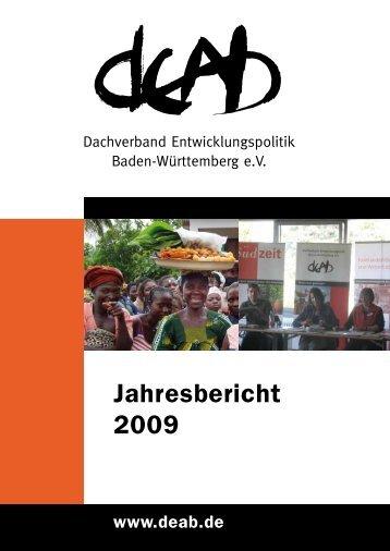 Jahresbericht 2009 - DEAB