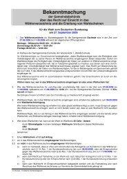 Bekanntmachung - Samtgemeinde Eschede