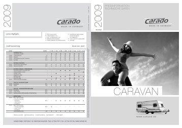 CA-8002 Preisliste Caravan_D_010808_RZ.indd - Carado