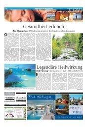 Gesunder Urlaub in Deutschland