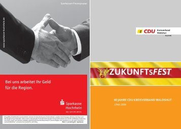 ZUKUNFTSFEST - CDU Kreisverband Waldshut
