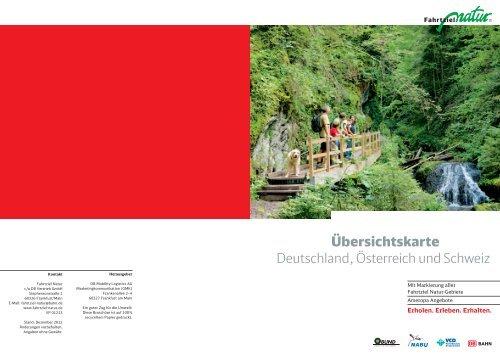 Übersichtskarte Deutschland, Österreich und Schweiz - VCD