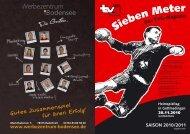 Tabelle C-Jugend männlich - TV Gottmadingen