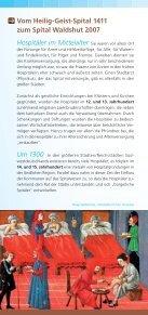 Geschichte des Spitals 1411 – 2007 - Spital Waldshut - Seite 2