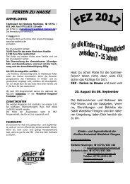 Kurz-Info - FEZ Waldshut-Tiengen Online Anmeldung