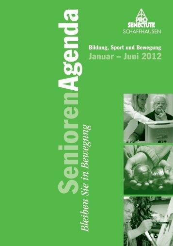 Senioren Agenda - Pro Senectute Schaffhausen