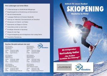 SKIOPENING - Oehler-Seminare