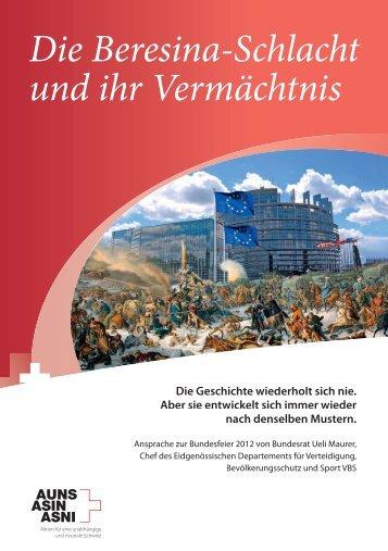 Die Beresina-Schlacht und ihr Vermächtnis - AUNS