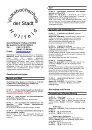 Programm Herbst / Winter 2012 (pdf) - Hollfeld