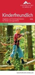 Kinderfreundlich - Die Fränkische Schweiz