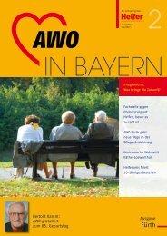 AWO IN BAYERN / Helfer Ausgabe 2/2011 (.pdf - Arbeiterwohlfahrt ...