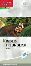 Kinderfreundlich 2010:Fränkische Schweiz - Sockenqualmer