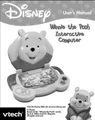 Winnie The Pooh Interactive Computer - VTech