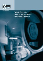 Vehicle Electronics Services and Solutions to Manage the ... - ESG