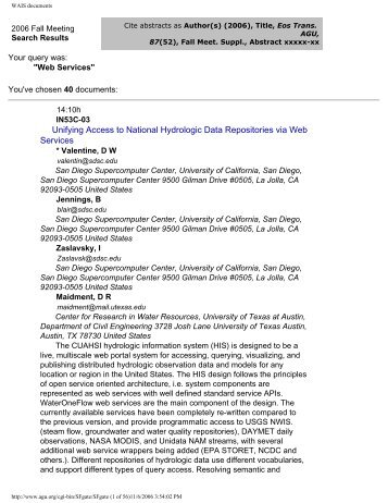 WAIS documents - Capita - Washington University in St. Louis
