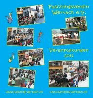 F s hingsverein a c Wer ach e.V t . - Faschingsverein Wertach eV