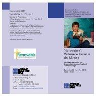 """""""Eurowaisen"""": Verlassene Kinder in der Ukraine - Renovabis"""