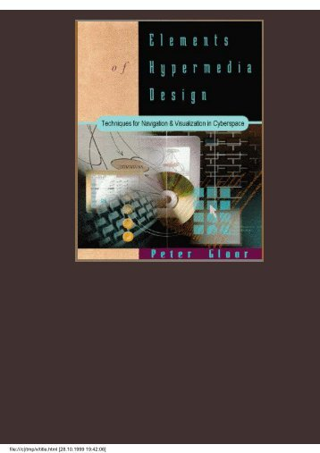 Elements of Hypermedia Design - ICKN