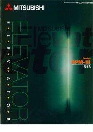 GPM-III Brochure - Mitsubishi Electric Elevators & Escalators