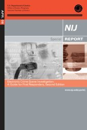 Electronic Crime Scene Investigation - National Criminal Justice ...