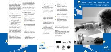 Crynodeb Gweithredol - European Child Safety Alliance