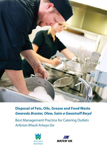 Disposal of Fats, Oils, Grease and Food Waste - Dŵr Cymru Welsh ...