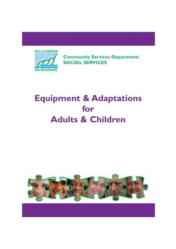 equipment and adaptations.qxp - Vale of Glamorgan Council