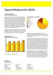 Geschäftsbericht 2005. - Raiffeisen Bezau-Mellau-Bizau
