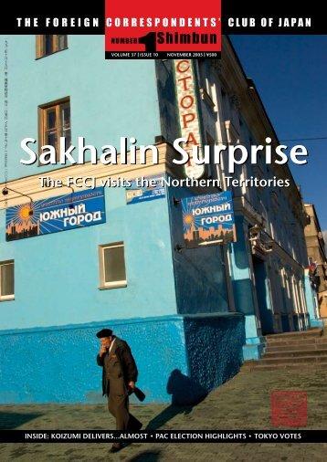 Sakhalin Surprise - Foreign Correspondents' Club of Japan