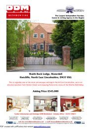 Waith Beck Lodge, Waterdell Hatcliffe, North East ... - Expert Agent