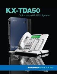 Digital Hybrid IP-PBX System - Panasonic