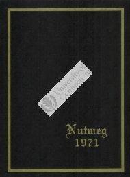 Nutmeg, 1970-1971 - Thomas J. Dodd Research Center - University ...